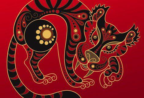Representación del Tigre en el horóscopo chino