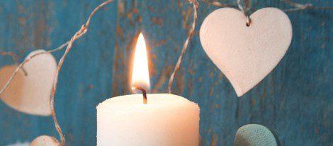 Con velas blancas se pueden hcer rituales de amor