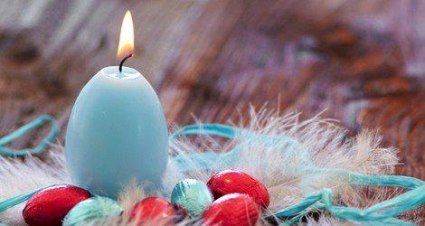 Las velas azules incentivan cualidades como el amor, la fe o la sinceridad