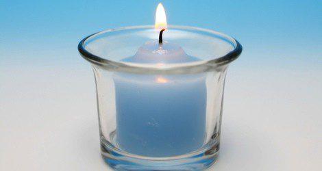 Las velas azules ayudan a revitalizar nuestra fuerza de voluntad y nuestro carácter