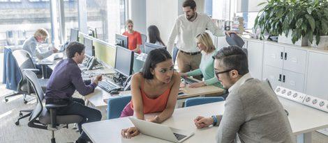 La ubicación de la oficina juega un punto clave para la energía positiva