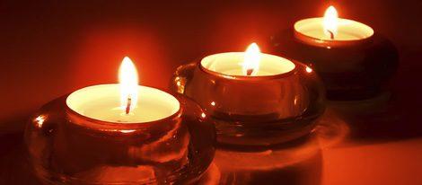 Utiliza siempre velas rojas para captar la pasión y el desenfreno