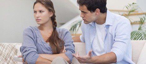 Estar constantemente enfadados no traerá buenas energías a la relación