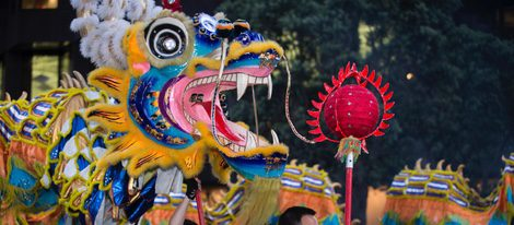 En muchas ciudades se hace una celebración pública del año nuevo chino, ¡aprovecha y ve!