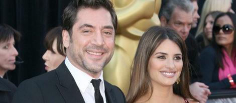 Penelope Cruz y Javier Bardem en los Oscar 2011