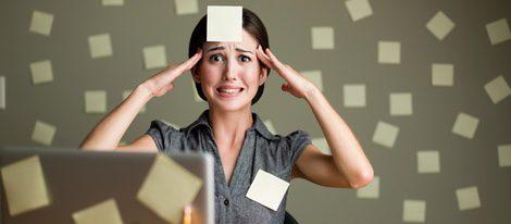 El estrés en tu puesto de trabajo te atrapará durante todo el mes