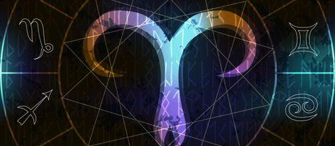 Representación del signo del zodíaco Aries