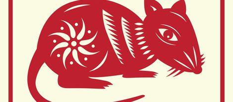 Representación del signo La Rata horóscopo chino