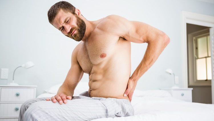 Ten cuidado con todos los ejercicios que realices, tu espalda puede quedar dañada