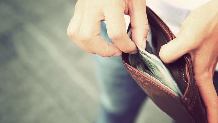 Contrólate con el dinero porque no recibirás grandes cantidades