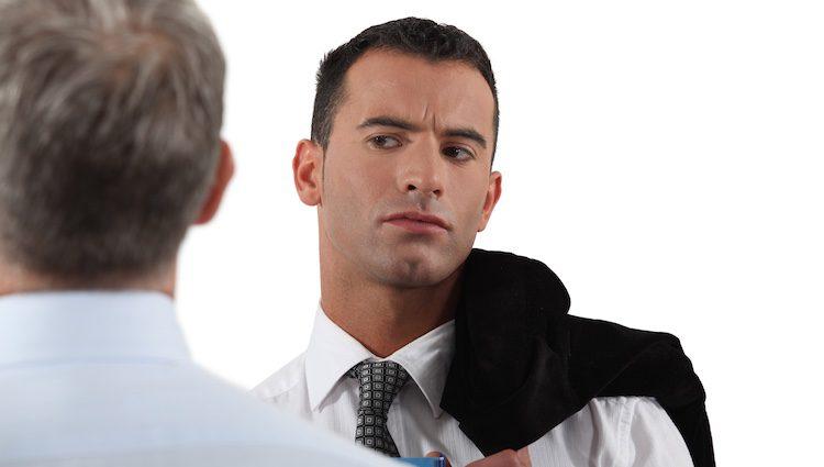 En el trabajo tienes problemas con alguien