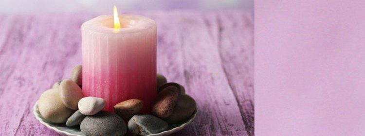 Rituales con velas rosas