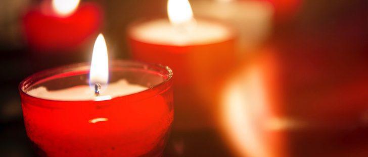 Rituales prohibidos con velas rojas