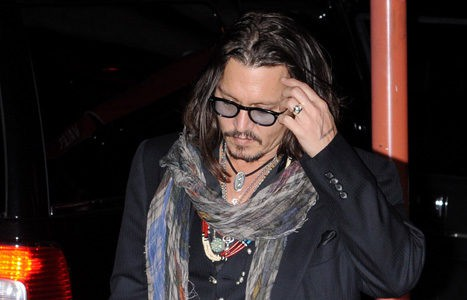 Johnny Depp, protagonista de Piratas del Caribe