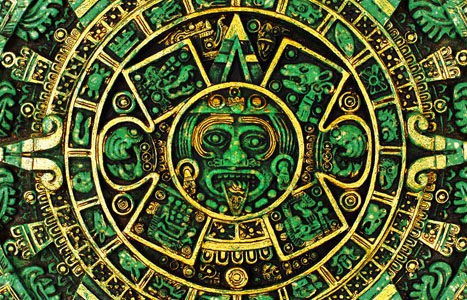 Rueda del calendario maya