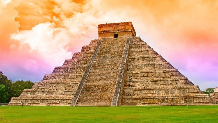 Ruinas de Chichen Itza, cuna de la civilización maya en México