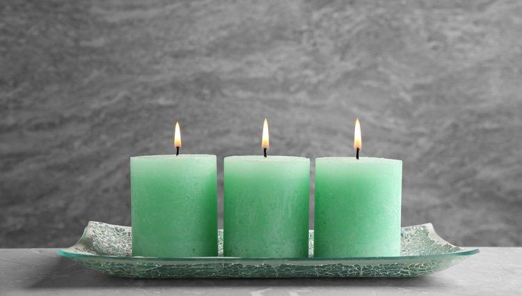Una vela verde es necesaria para este ritual