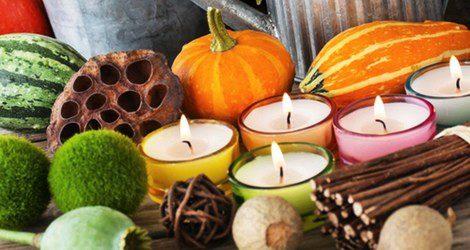 Las velas son muy útiles para los rituales de Halloween