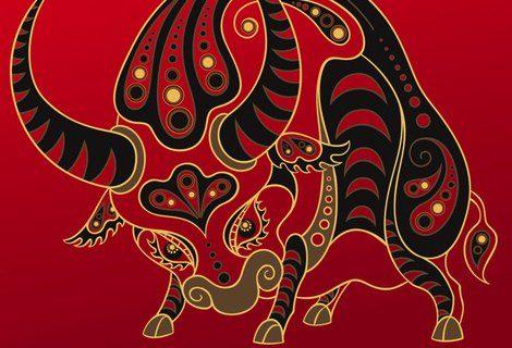 Representación gráfica del Búfalo en el Horóscopo Chino