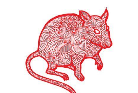 Representación de la rata en el horóscopo chino