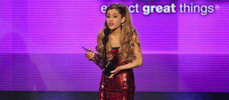 La cantante Ariana Grande