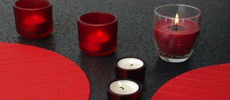 La vela roja es la del amor por excelencia