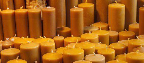 Las velas amarillas atraen el dinero