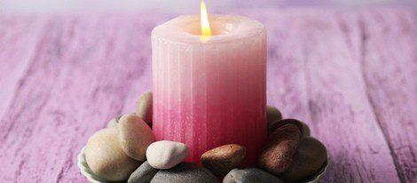 Las velas rosas ayudan a la pareja, a la amistad y a la familia
