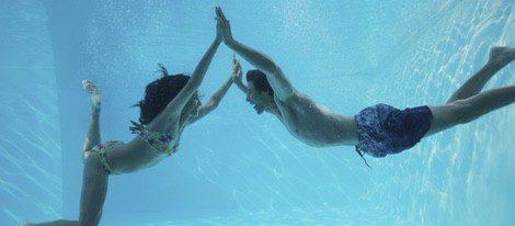 La natación puede ser una vía de escape al estrés