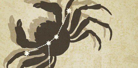 Representación del zodiaco Cáncer