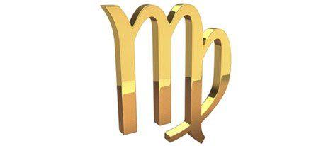 Representación gráfica del signo Virgo