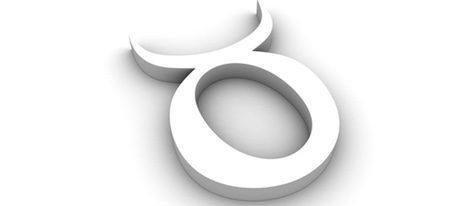 Representación gráfica del signo del zodiaco Tauro