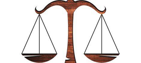 Representación gráfica del signo del zodiaco Libra