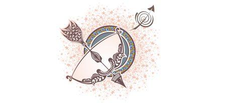Representación signo zodiacal Sagitario