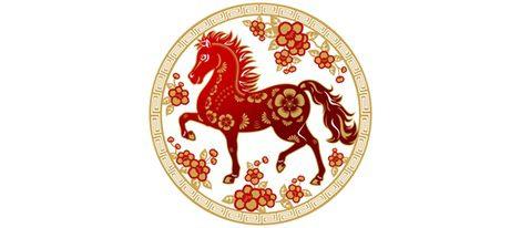 Representación signo zodiacal chino Caballo