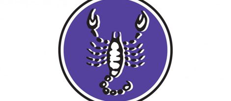 Representación del signo zodiacal de Escorpio