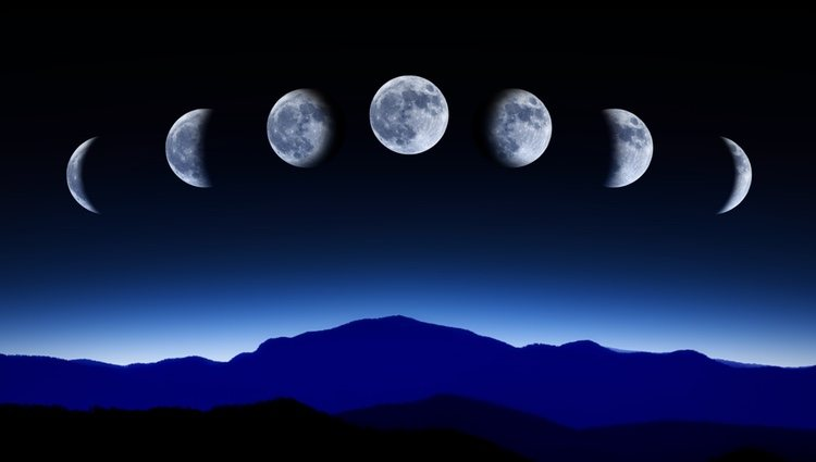 Las fases de la luna te ayudan en tus propósitos con los rituales adecuados