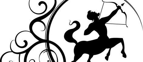 Representación del signo del zodíaco Sagitario