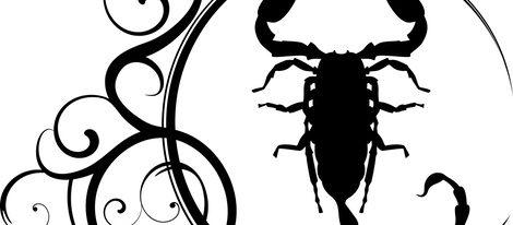 Representación del signo del zodíaco Escorpio