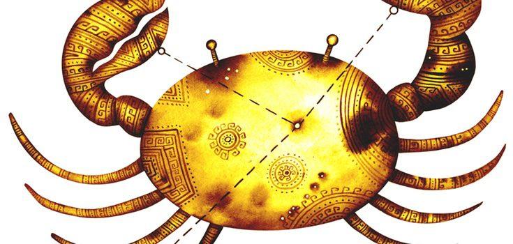 La constelación de este signo es un cangrejo