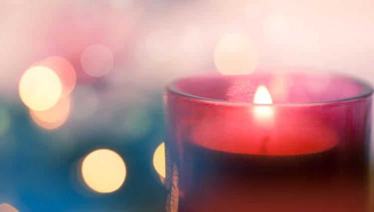 Las velas rosas ayudan al amor fraternal