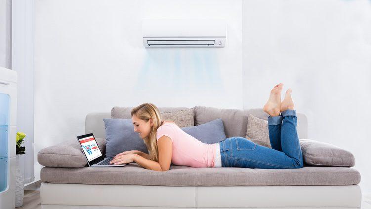 Ten cuidado con los aires acondicionados porque pueden hacer que caigas enfermo