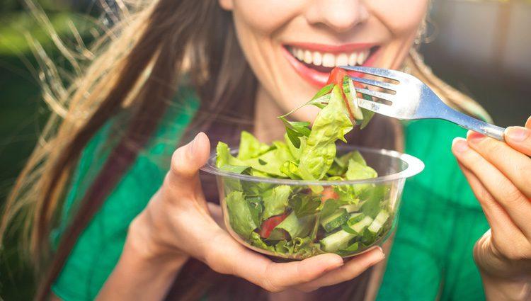 Ahora comes sano y si me apuras hasta cualquier día te haces vegetariano