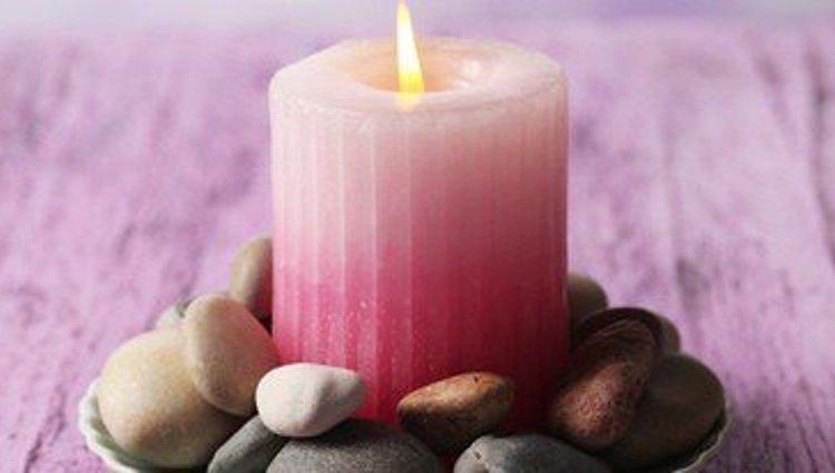 Las velas rosas son las mejores para los rituales de amor
