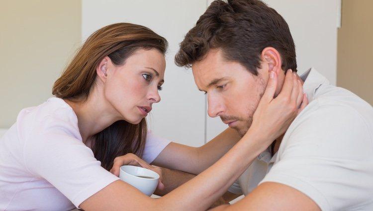 Apoya a tu pareja y muéstrale todo tu cariño y empatía en sus peores momentos