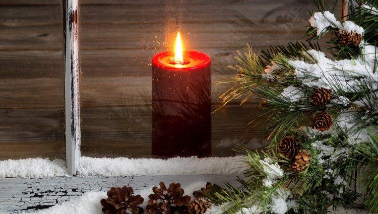 Utiliza velas de colores, pero no solo en estas fechas, sino durante todo el año