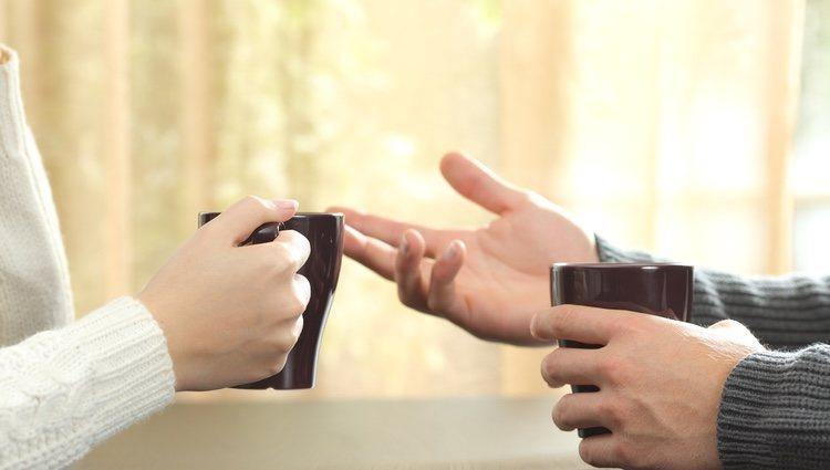 Habla con tu pareja para poder solucionar vuestros problemas