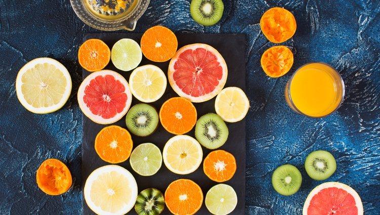 Toma mucha vitamina C