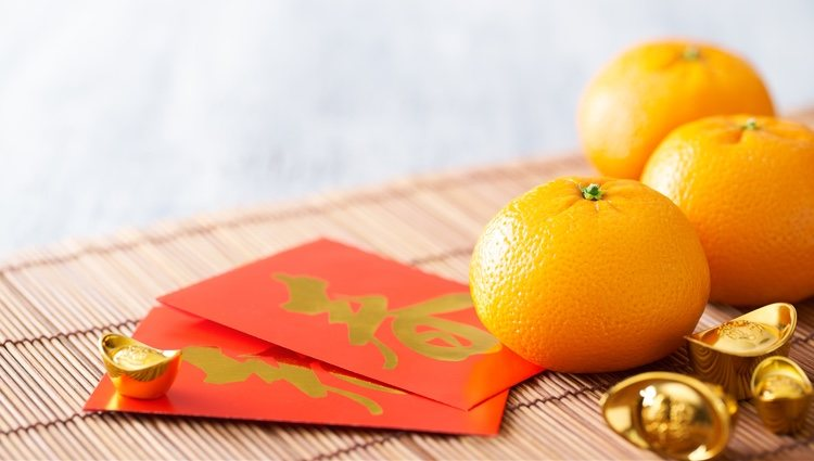 Comer mandarinas da buena suerte en esta cultura
