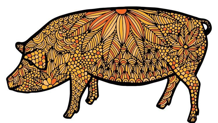 El Cerdo es el animal más honesto y relajado del horóscopo